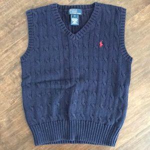 Ralph Lauren Boys Sweater Vest